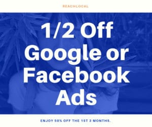 50% off Google and Facebook ads
